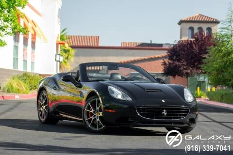 2010 Ferrari California for sale at Galaxy Autosport in Sacramento CA