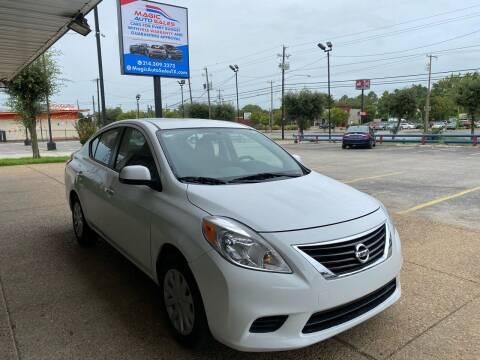 2012 Nissan Versa for sale at Magic Auto Sales in Dallas TX