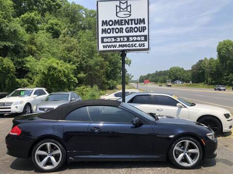 2010 BMW 6 Series for sale at Momentum Motor Group in Lancaster SC