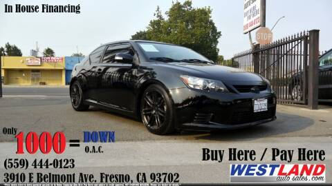 2013 Scion tC for sale at Westland Auto Sales in Fresno CA