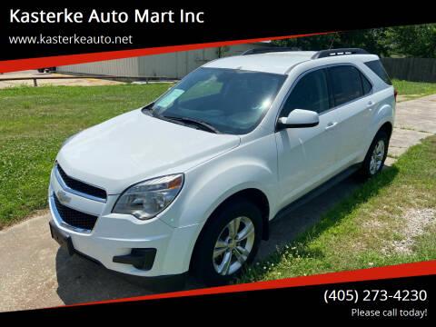 2012 Chevrolet Equinox for sale at Kasterke Auto Mart Inc in Shawnee OK