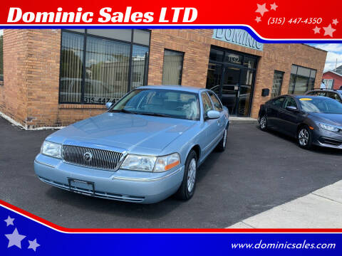2005 Mercury Grand Marquis for sale at Dominic Sales LTD in Syracuse NY