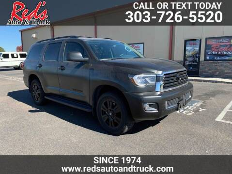 2020 Toyota Sequoia for sale at Red's Auto and Truck in Longmont CO