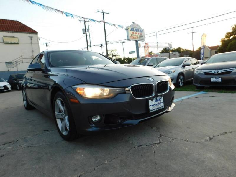 2015 BMW 3 Series for sale at AMD AUTO in San Antonio TX