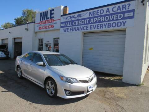 2014 Toyota Camry for sale at Nile Auto Sales in Denver CO