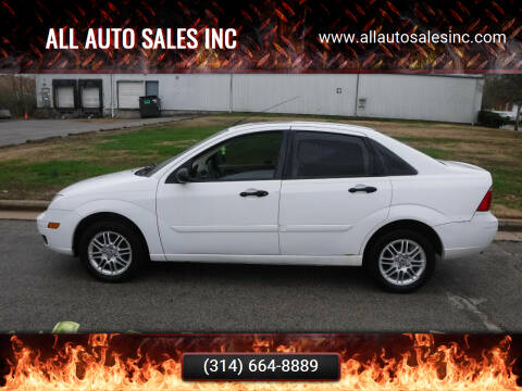 2007 Ford Focus for sale at ALL Auto Sales Inc in Saint Louis MO