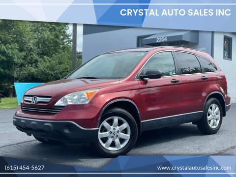 2009 Honda CR-V for sale at Crystal Auto Sales Inc in Nashville TN