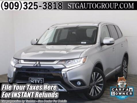 2019 Mitsubishi Outlander for sale at STG Auto Group in Montclair CA