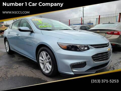 2018 Chevrolet Malibu for sale at Number 1 Car Company in Detroit MI