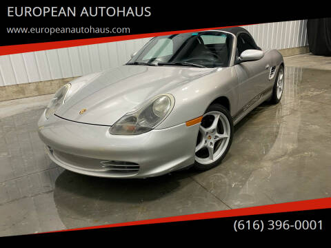 2004 Porsche Boxster for sale at EUROPEAN AUTOHAUS in Holland MI