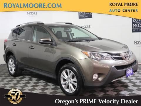 2014 Toyota RAV4 for sale at Royal Moore Custom Finance in Hillsboro OR