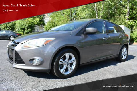 2012 Ford Focus for sale at Apex Car & Truck Sales in Apex NC