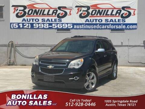 2010 Chevrolet Equinox for sale at Bonillas Auto Sales in Austin TX