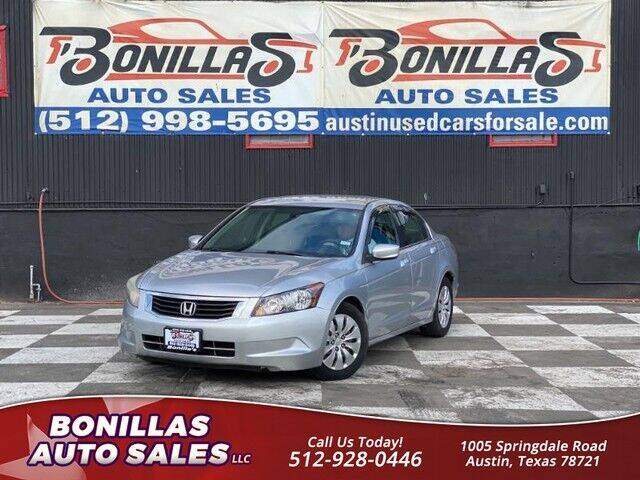 2010 Honda Accord for sale at Bonillas Auto Sales in Austin TX