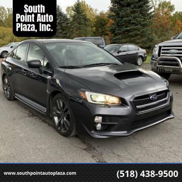 2017 Subaru WRX for sale at South Point Auto Plaza, Inc. in Albany NY