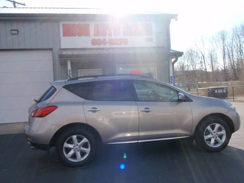 2009 Nissan Murano for sale at ENON AUTO SALES in Enon OH