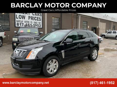 2013 Cadillac SRX for sale at BARCLAY MOTOR COMPANY in Arlington TX