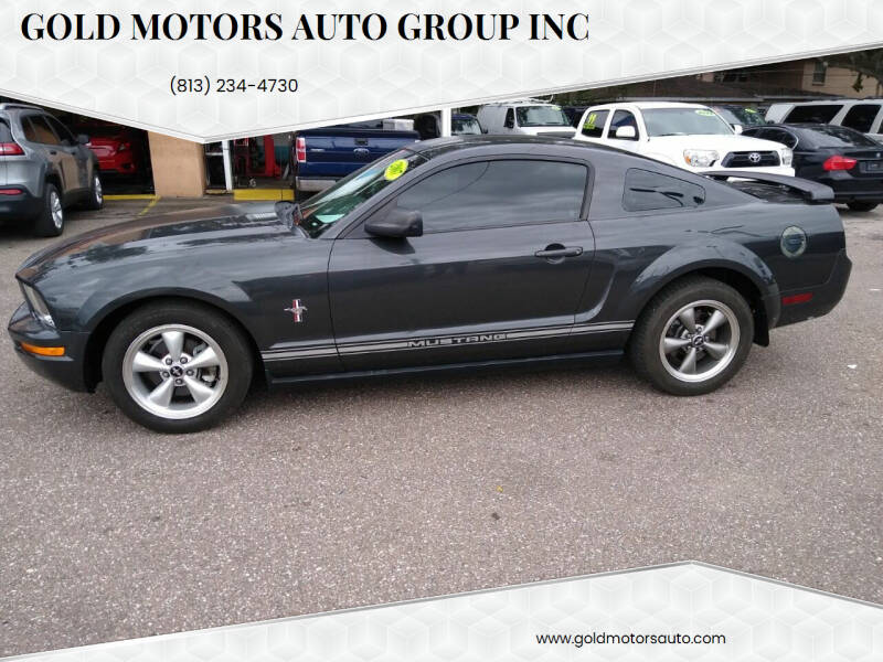 2007 Ford Mustang for sale at Gold Motors Auto Group Inc in Tampa FL