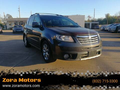 2009 Subaru Tribeca for sale at Zora Motors in Houston TX