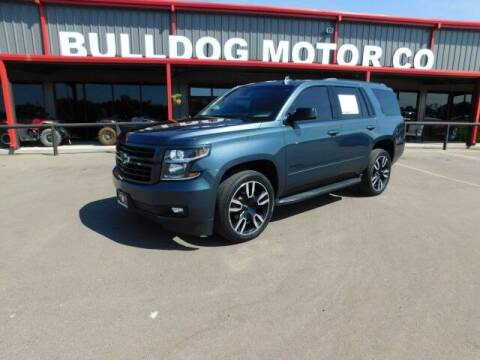 2019 Chevrolet Tahoe for sale at Bulldog Motor Company in Borger TX