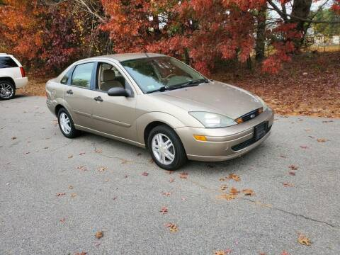 2003 Ford Focus for sale at Pelham Auto Group in Pelham NH