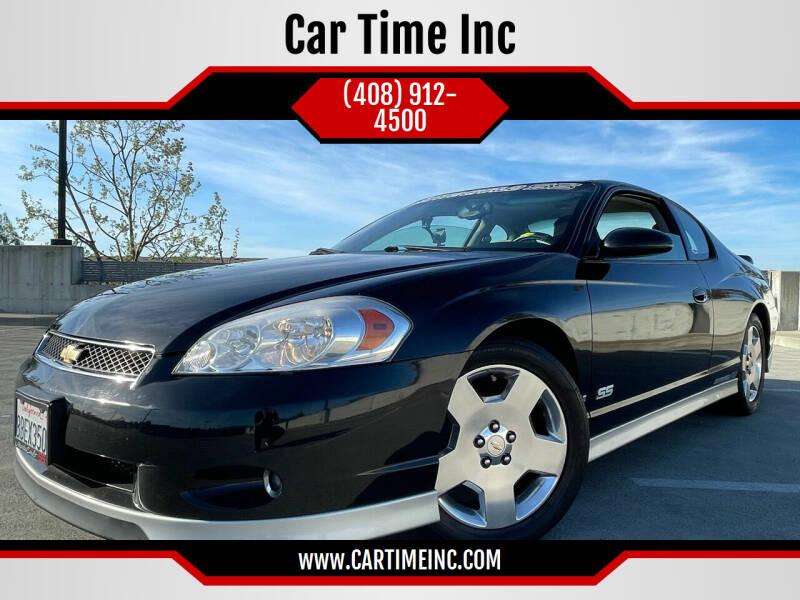 2007 Chevrolet Monte Carlo for sale at Car Time Inc in San Jose CA