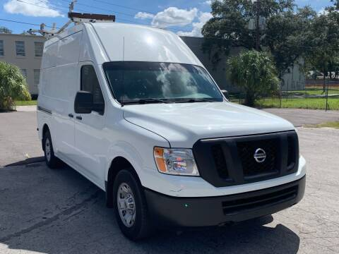 2015 Nissan NV Cargo for sale at Consumer Auto Credit in Tampa FL