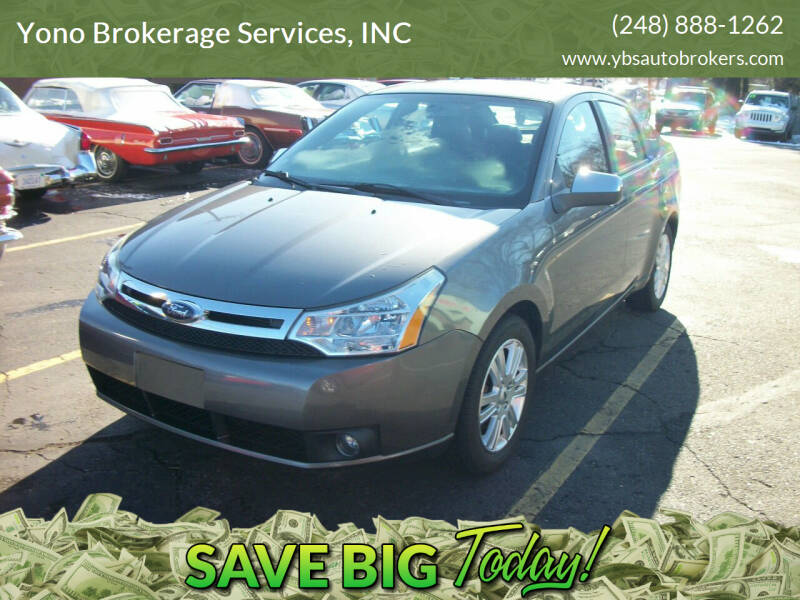 2010 Ford Focus for sale at Yono Brokerage Services, INC in Farmington MI