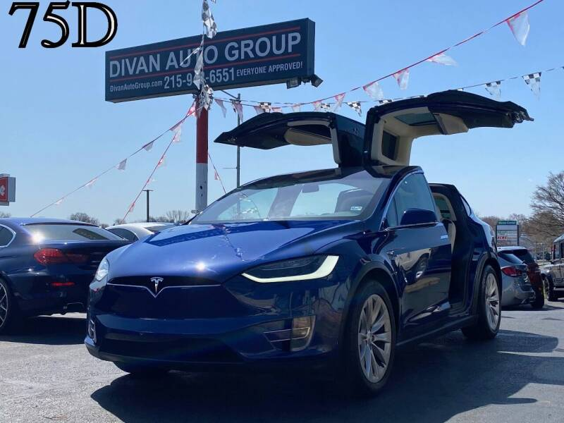 2017 Tesla Model X for sale at Divan Auto Group in Feasterville PA