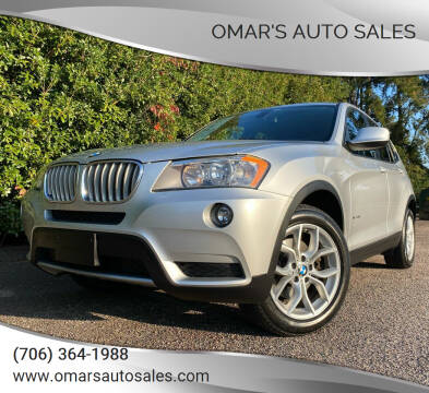 2013 BMW X3 for sale at Omar's Auto Sales in Martinez GA