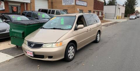 2002 Honda Odyssey for sale at Frank's Garage in Linden NJ