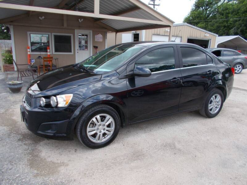 2015 Chevrolet Sonic for sale at DISCOUNT AUTOS in Cibolo TX