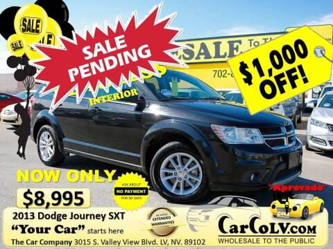 2013 Dodge Journey for sale at The Car Company in Las Vegas NV
