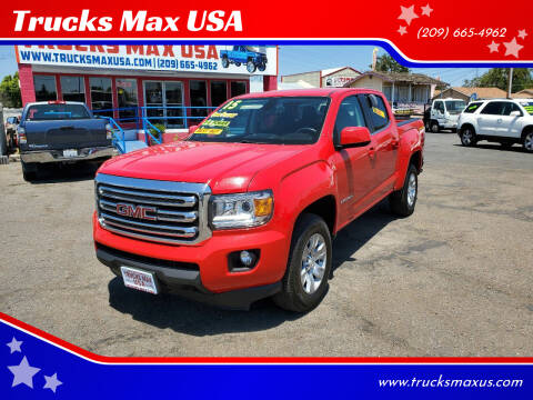 2015 GMC Canyon for sale at Trucks Max USA in Manteca CA