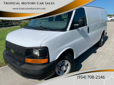 2012 Chevrolet Express Cargo for sale at Tropical Motors Car Sales in Deerfield Beach FL