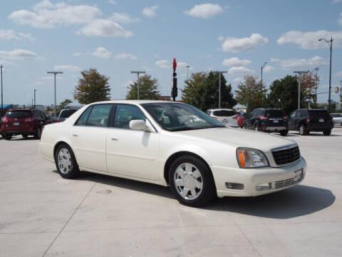 2000 Cadillac DeVille for sale at SIMOTES MOTORS in Minooka IL