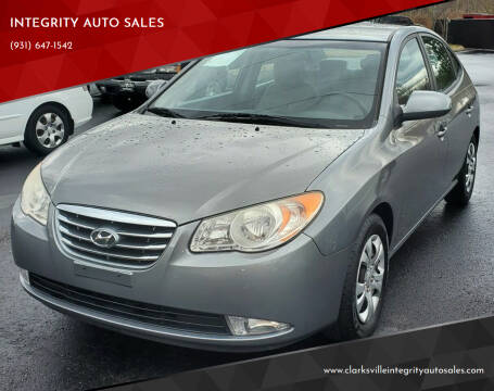 2010 Hyundai Elantra for sale at INTEGRITY AUTO SALES in Clarksville TN