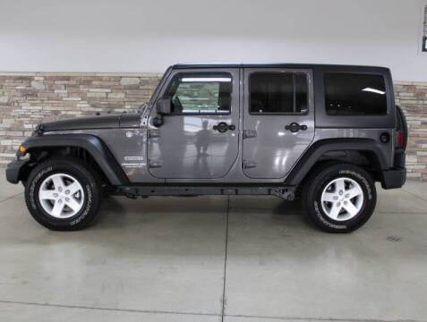 2017 Jeep Wrangler Unlimited for sale at Bud & Doug Walters Auto Sales in Kalamazoo MI