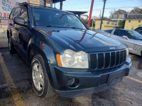 2005 Jeep Grand Cherokee for sale at USA Auto Brokers in Houston TX