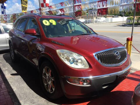 2009 Buick Enclave for sale at Versalles Auto Sales in Hialeah FL