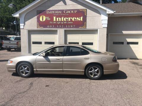 2002 Pontiac Grand Prix for sale at Imperial Group in Sioux Falls SD
