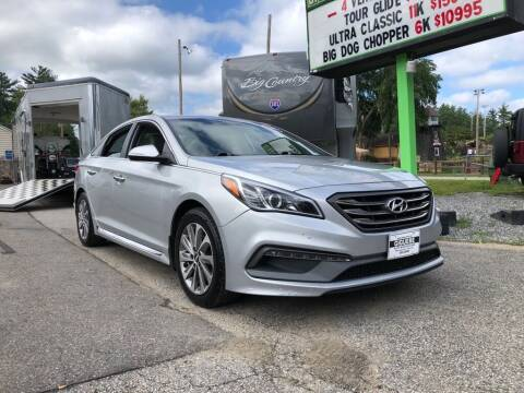 2015 Hyundai Sonata for sale at Giguere Auto Wholesalers in Tilton NH