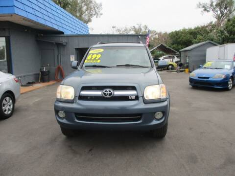 2006 Toyota Sequoia for sale at AUTO BROKERS OF ORLANDO in Orlando FL