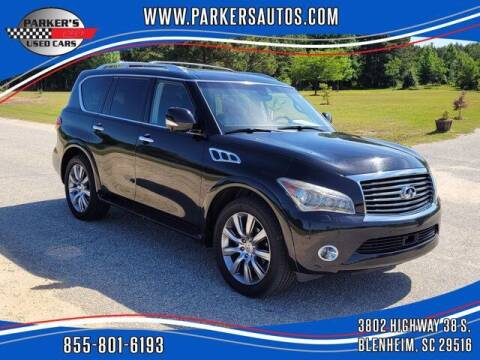 2013 Infiniti QX56 for sale at Parker's Used Cars in Blenheim SC