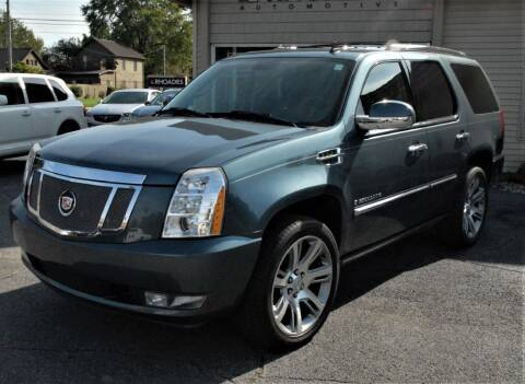 2008 Cadillac Escalade for sale at Rhoades Automotive Inc. in Columbia City IN