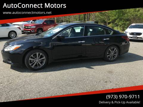 2018 Nissan Altima for sale at AutoConnect Motors in Kenvil NJ