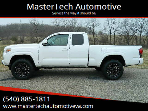 2019 Toyota Tacoma for sale at MasterTech Automotive in Staunton VA