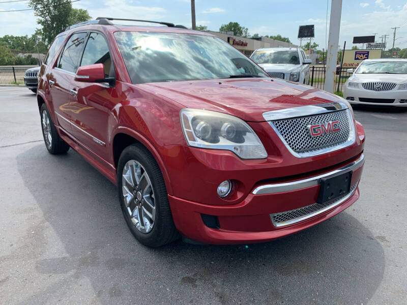 2012 GMC Acadia for sale at Summit Palace Auto in Waterford MI