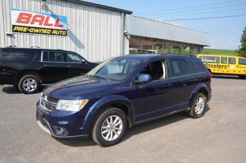 2017 Dodge Journey for sale at Ball Pre-owned Auto in Terra Alta WV
