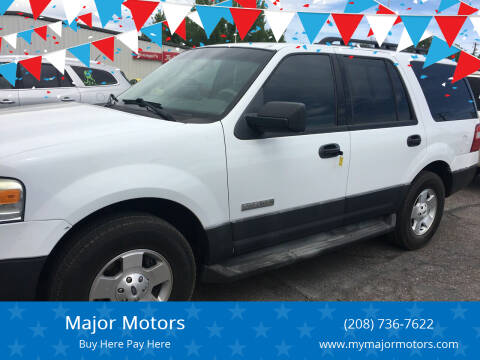 2007 Ford Expedition for sale at Major Motors in Twin Falls ID